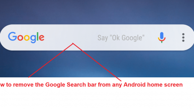 Photo of How to remove the Google Search bar from any Android home screen