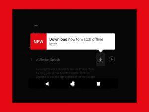 Netflix Offline Download