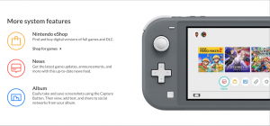 Nintendo Switch Lite Features System