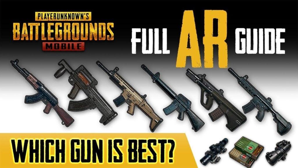 Hasil gambar untuk pubg mobile weapon