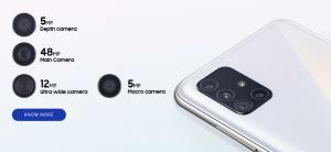 Samsung Galaxy A71 Camera