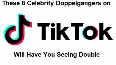 Photo of These 8 Celebrity Doppelgangers on TikTok Will Have You Seeing Double