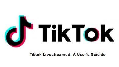 Photo of Tiktok App Livestreamed- A User's Suicide