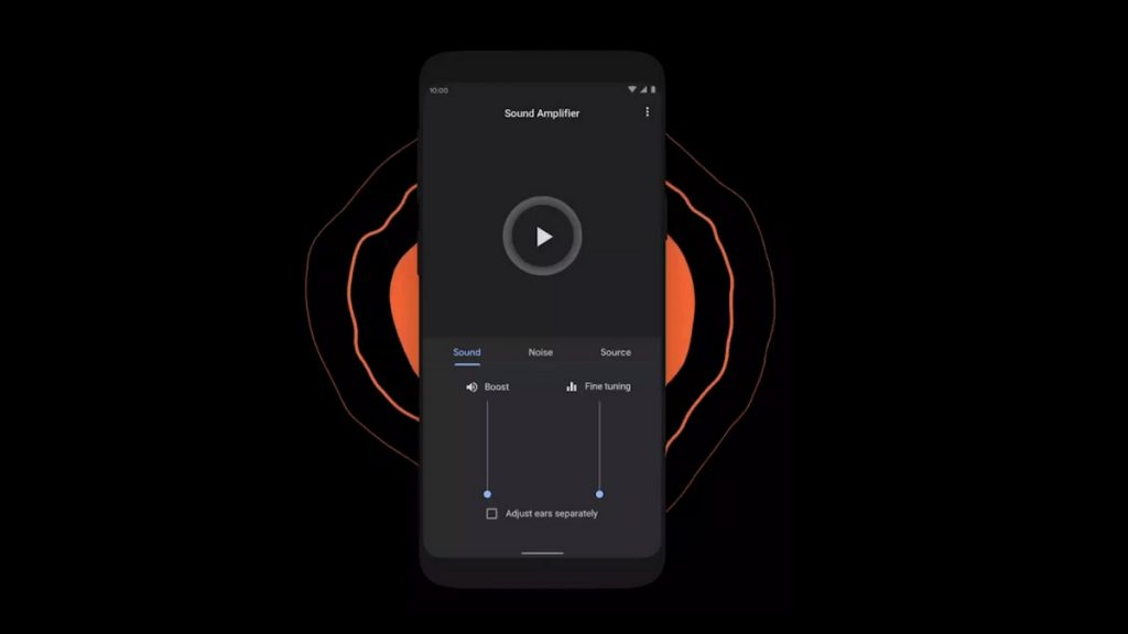 How to use Sound Amplifier on Android 10