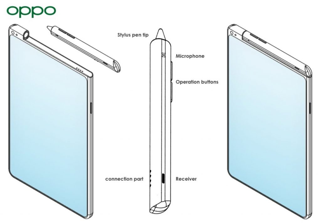 Oppo's All-New Patented Stylus: Calls Made Easier