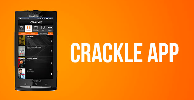 The Crackle app starts automatically while using the YouTube app on the Android TV