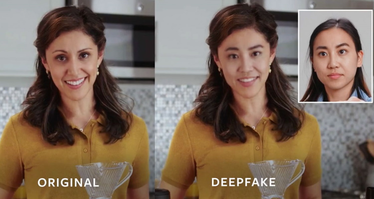 TikTok Deepfakes - Manipulated videos with face-swapping technology