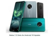 Photo of Nokia 7.2 Gets An Android 10 Update