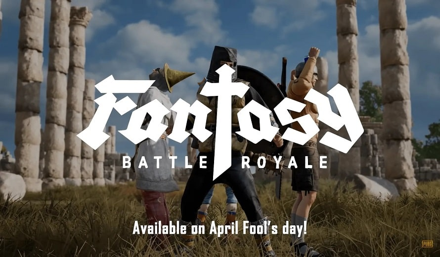Now PUBG April Fool Battle turns Battle Royale into Fantasy